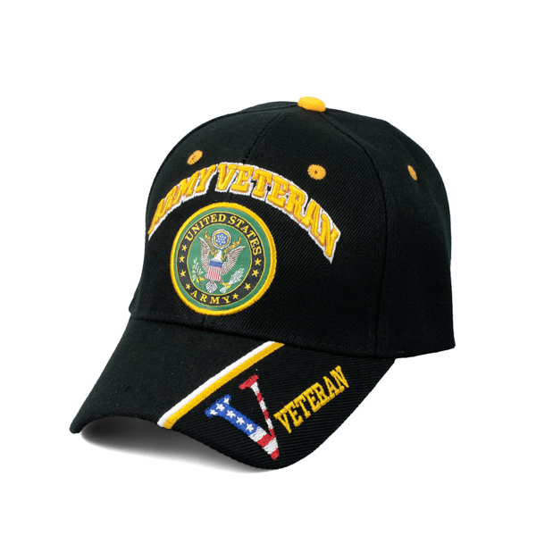 us army veteran w logo limited edition hat