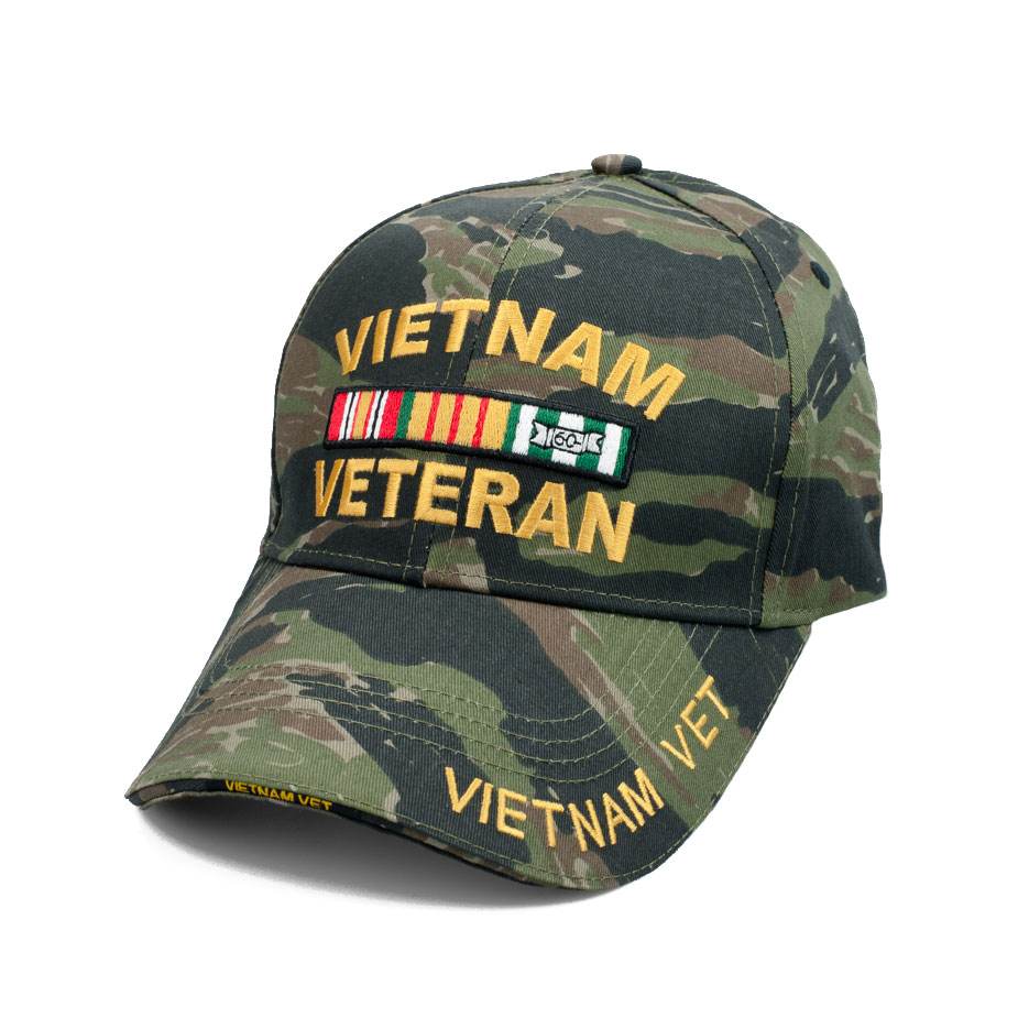 5e557aa0 U.S. Military Online Store - Vietnam Veteran Tiger Stripe Hat