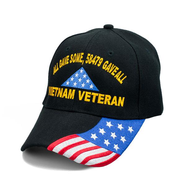 3161beabc Vietnam Veteran Ribbon/Map - Graphics Hat