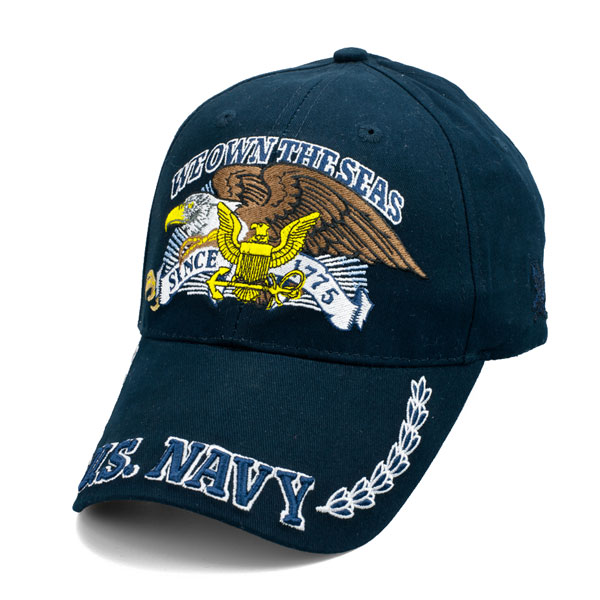 41a0cfb6d94 Officially Licensed U.S. Navy 1775 - We Own the Seas Hat ...