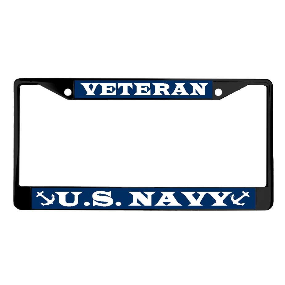 New U.S. Military Online Store - Vietnam Veteran License Plate Frame  BO14