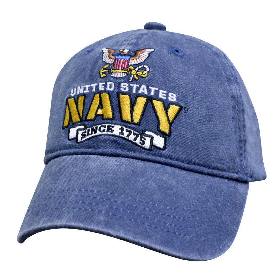 95c1a775e15 Officially Licensed U.S. Navy Since 1775 Vintage Hat ...