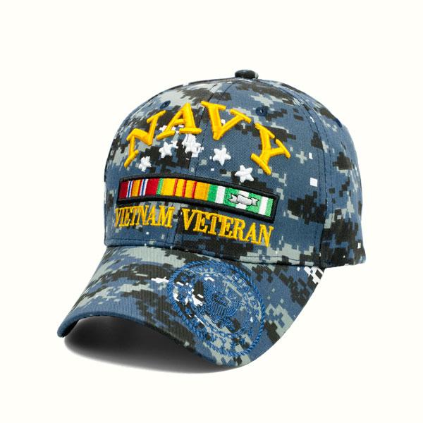66896e455 US Navy Vietnam Veteran Hat - 6 Panel Hat
