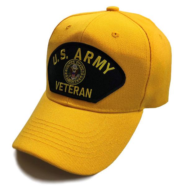d4a38d226dd U.S. Army Veteran w  Crest - Special Edition Gold Hat ...