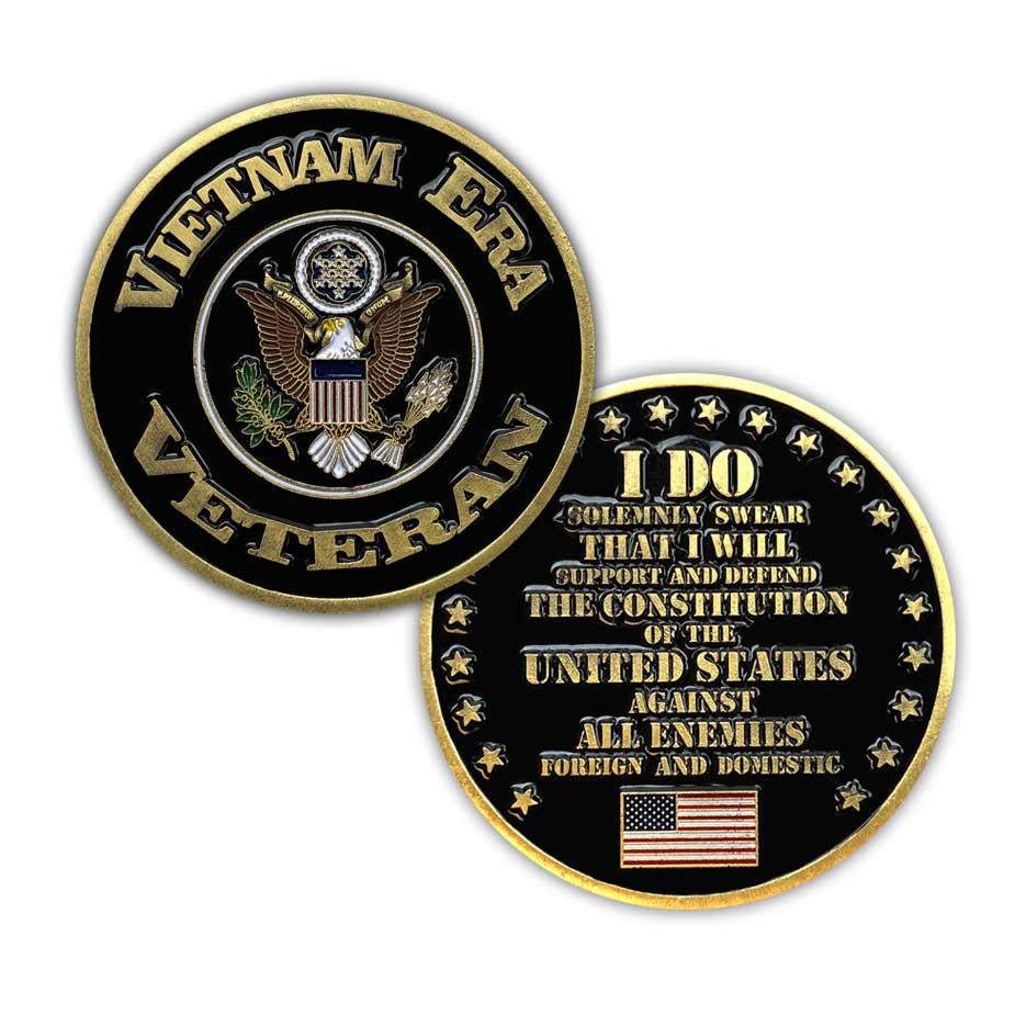 Vietnam Era Veteran Challenge Coin - Limited Issue