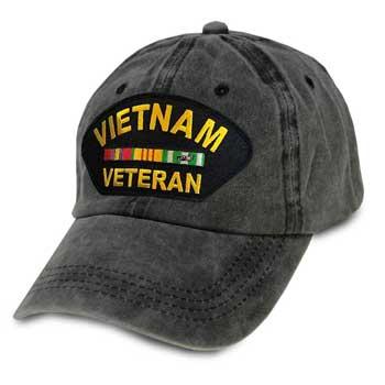 5449636b0 U.S. Military Online Store - Vietnam Veteran Vintage - OD Fitted Hat