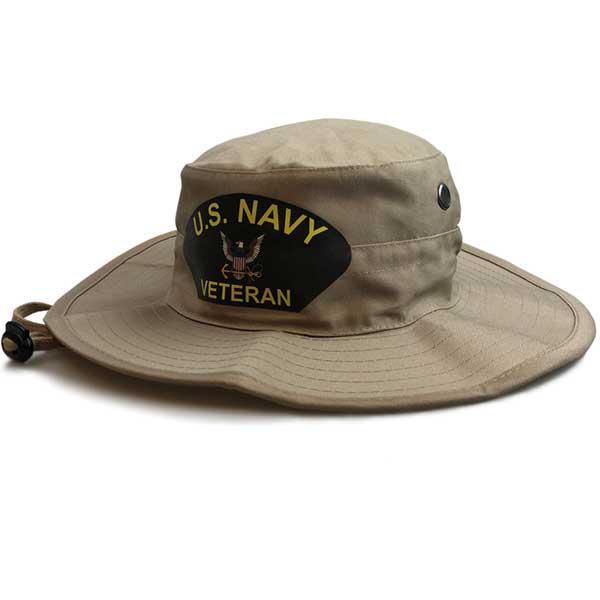 1666e84b3767 U.S. Navy Veteran Boonie Hat in Khaki - Limited Issue ...