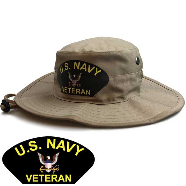 d8287f00060 U.S. Navy Veteran Boonie Hat in Khaki - Limited Issue