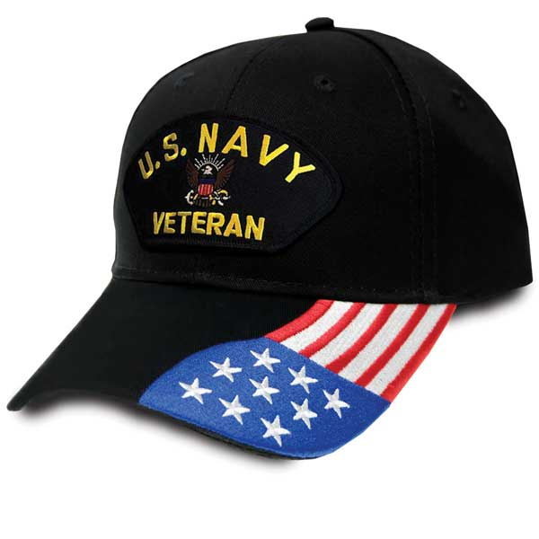 97f84555acf U.S. Navy Veteran - Special Edition U.S. Flag Hat