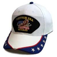 2fdcb9cf210 Vietnam Era Veteran w  Eagle - Custom Edition Hat w  Stars