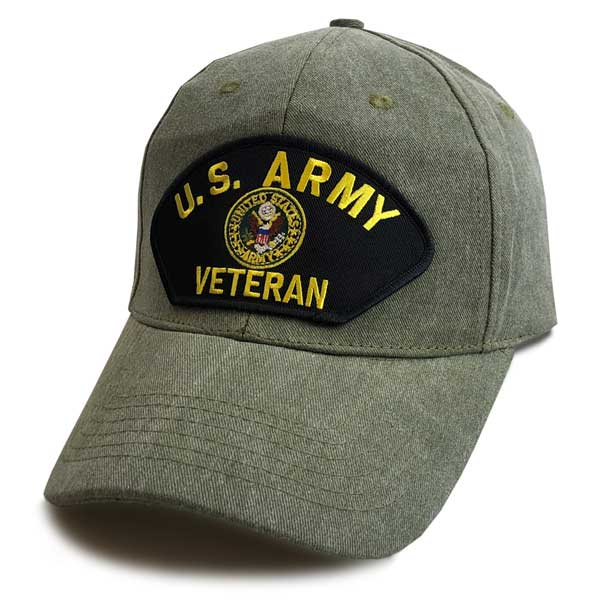 cb4690c1d40 U.S. Army Veteran - Classic Edition Vintage O.D. Hat ...