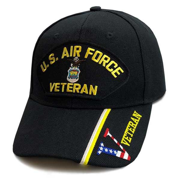 df63e9d6b4b U.S. Air Force Veteran - Custom Edition Hat w  Veteran ...
