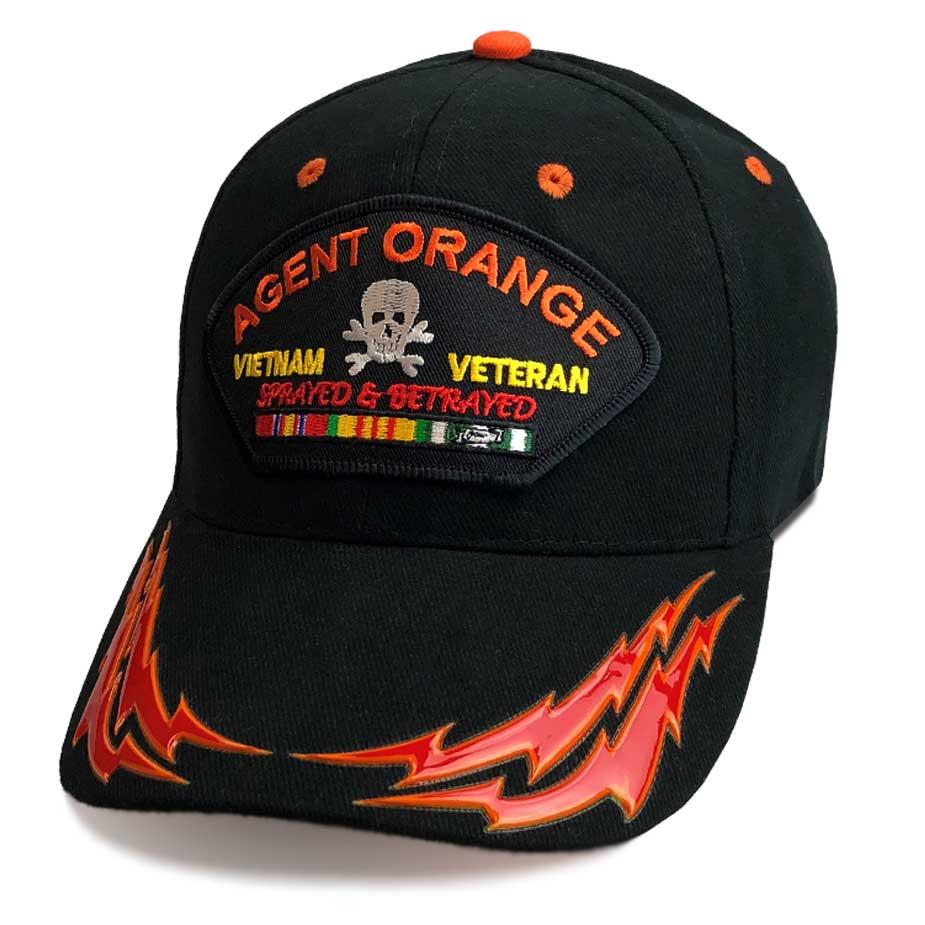 Vietnam Veteran Agent Orange Cap - Hats