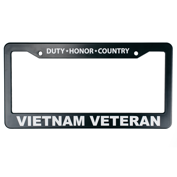 U.S. Military Online Store - Vietnam Veteran License Plate Frame ...