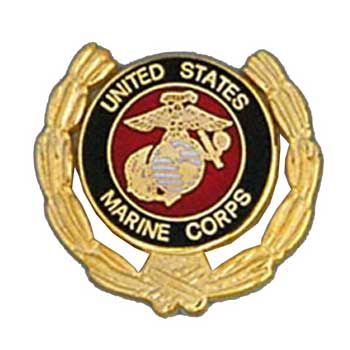 Jewelry & Watches Beautiful Metal Lapel Pin Usmc Pin Marine Corp And Emblem Usmc Logo Wreath New Wedding & Anniversary Bands