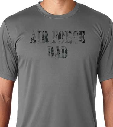 2f68e4f09 Air Force Dad City Camo Solar Performance SS T-Shirt