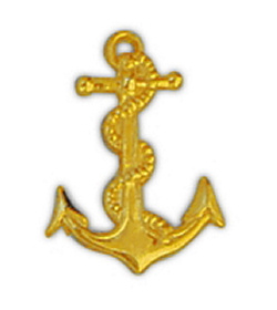 Navy Anchor II Hat/Lapel Pin