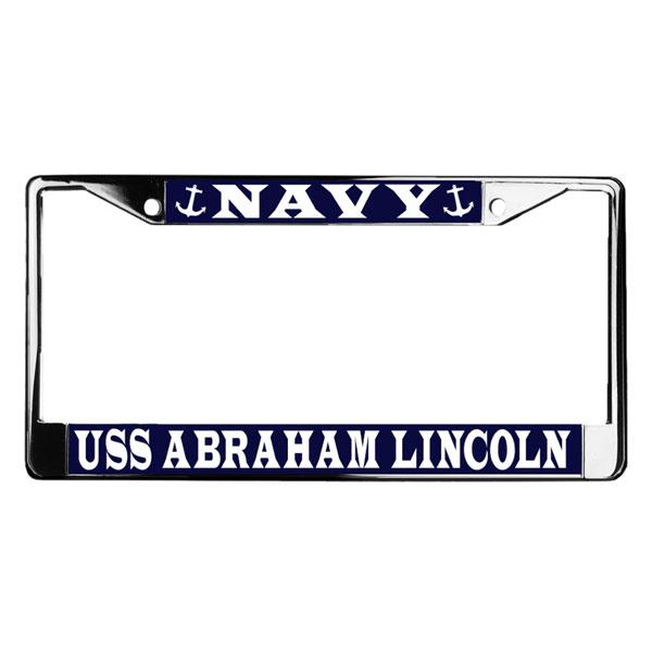 U.S. Military Online Store - Navy Nuke Metal License Plate Frame