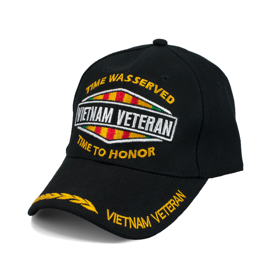 Vietnam Veteran Time Was Served Special Edition Hat W