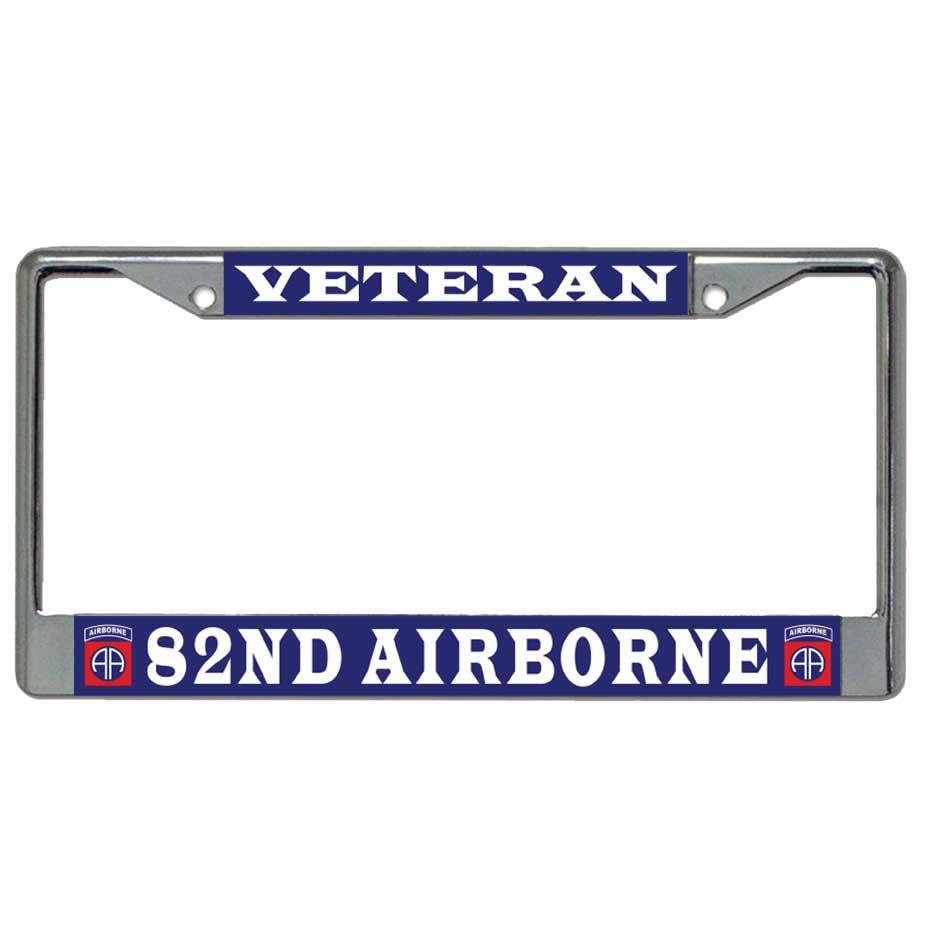 U.S. Military Online Store - Army 82nd Airborne Veteran Metal ...