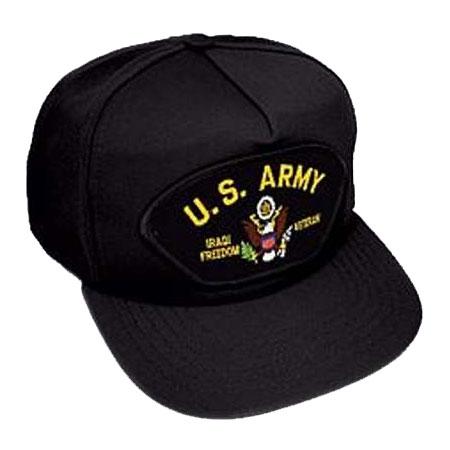 a917e7573ff Army Iraq Veteran 5 Panel Hat - Hats