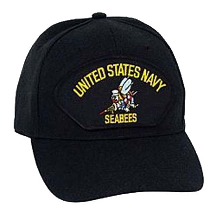 U S Military Online Store Navy Seabees Hat Navy Hats Us Navy Seabees Logo Patch Hat