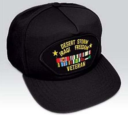 Iraq Desert Storm Veteran Hat War Hat Iraqi Freedom