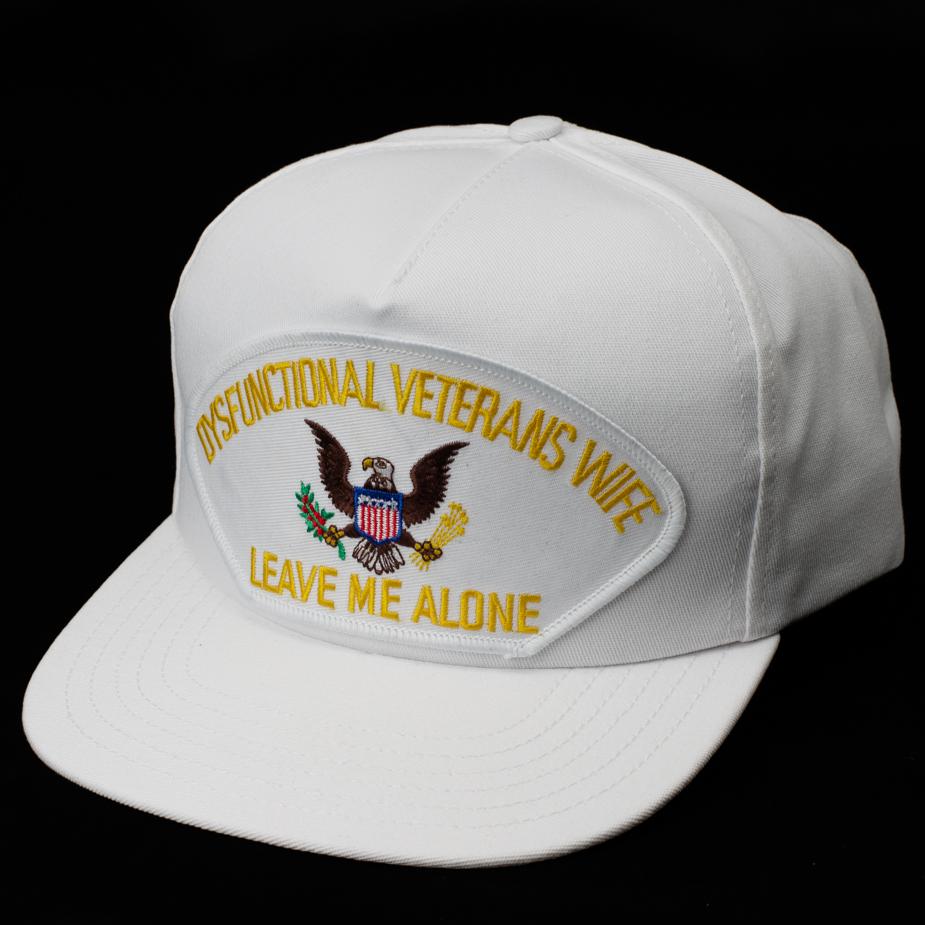 Wife Of A Dysfunctional Veteran Hat Wife Of Veteran Hats