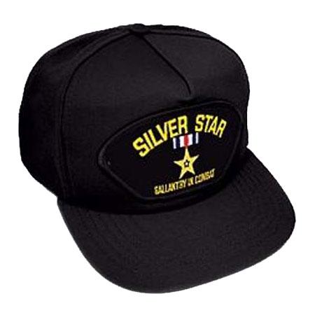 Silver Star Medal Hat  7f2db8d85af