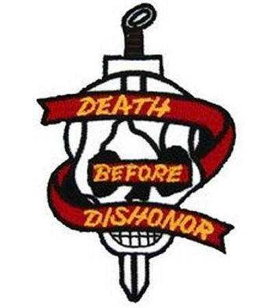 United States Army Ring Death By Dishonor