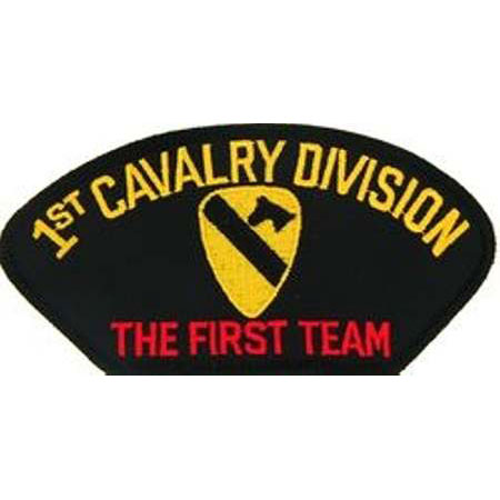 1st Cavalry Patch Buy 1st Cav Div Patch