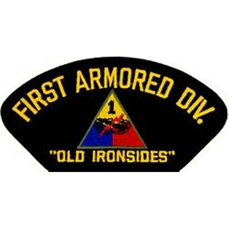 1st Armored Division Patch Buy 1st Armored Division Patch