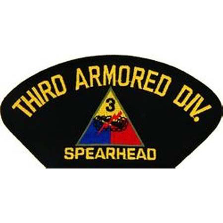 3rd Armored Division Patch 3rd Armored Div Patch