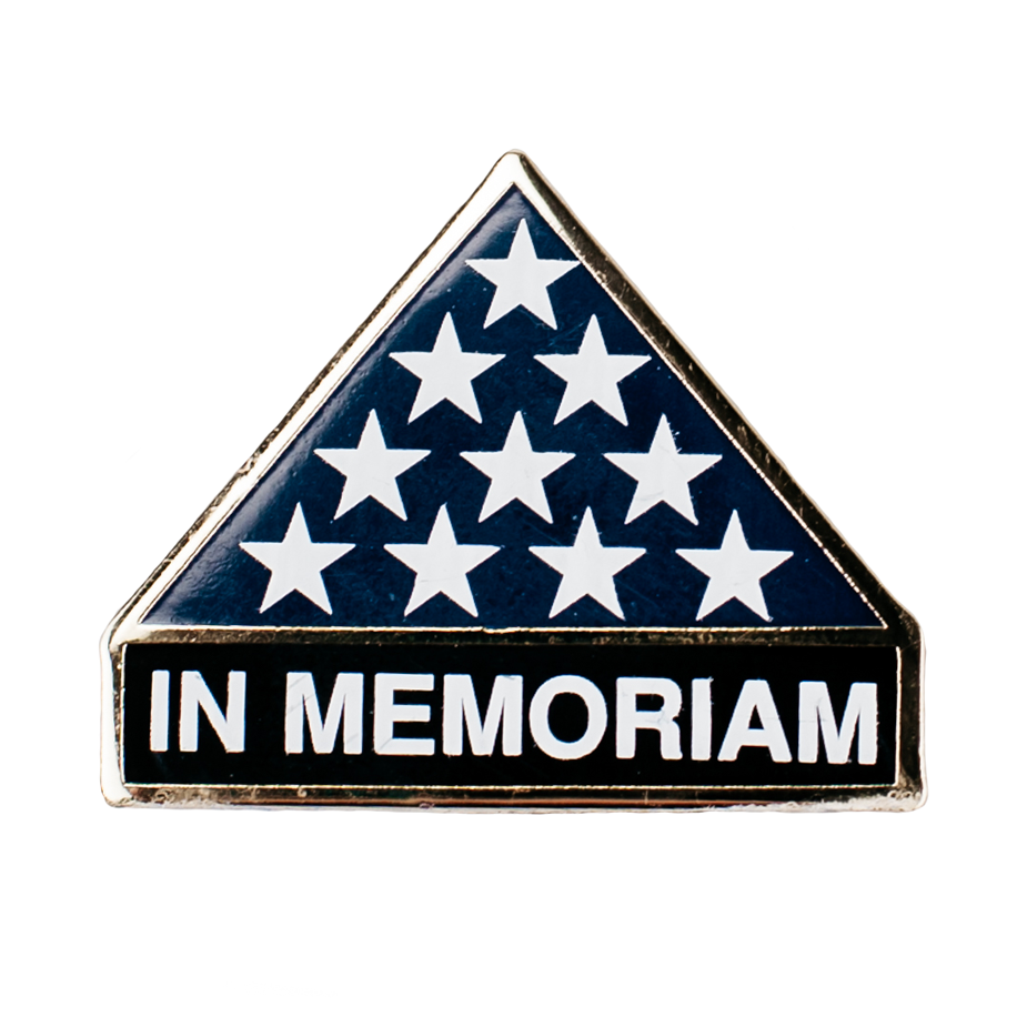 In Memoriam Hat/Lapel Pin