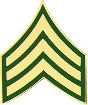 U.S. Military Online Store - Army E-5 Sergeant Rank Pin   Army ...