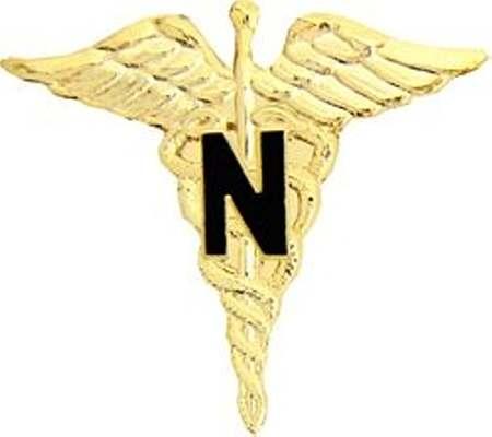 Military Hats on Army Nurse Rn Pin   Army Pins   Army Nurse Rn Logo   Insignia Pin