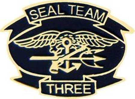 Buy Navy Seal Team 3 Hat lapel PinNavy Seal Team 3