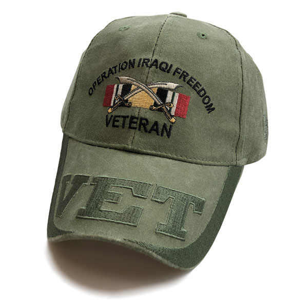 d66c784d Operation Iraqi Freedom Veteran Mesh Cap - Hats | VetFriends.com