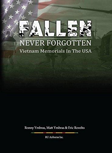 Great military books military books by military veterans fallen never forgotten vietnam memorials in the usa by ronald ymbras matthew ymbras eric rovelto fandeluxe Gallery