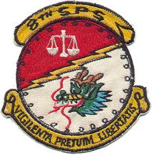 8TH SPS Air Force
