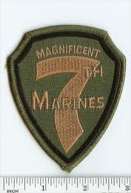 COMPANY F, 2ND BATTALION, 7TH MARINES, 1ST MARINE Marine Corps