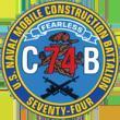 NMCB 74 Navy