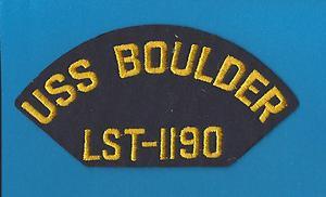 USS BOULDER Navy