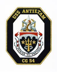 USS ANTIETAM Navy