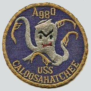 USS CALOOSAHATCHEE AO98 Navy