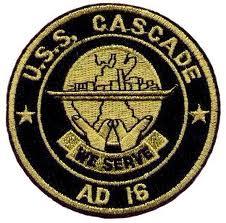 USS CASCADE AD16 Navy