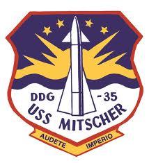 USS MITSCHER DL2 Navy