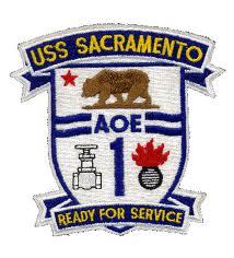 USS SACRAMENTO AOE-1 Navy