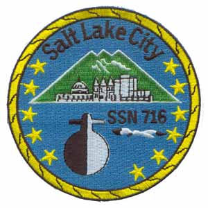 USS SALT LAKE CITY Navy