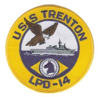 USS TRENTON LPD-14 Navy